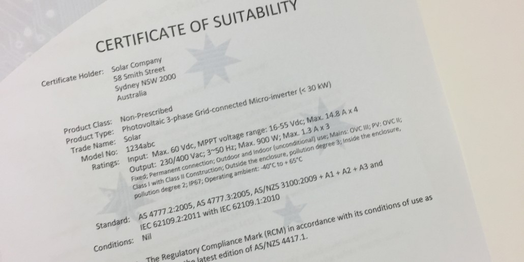 The Value of Obtaining a Certificate of Suitability