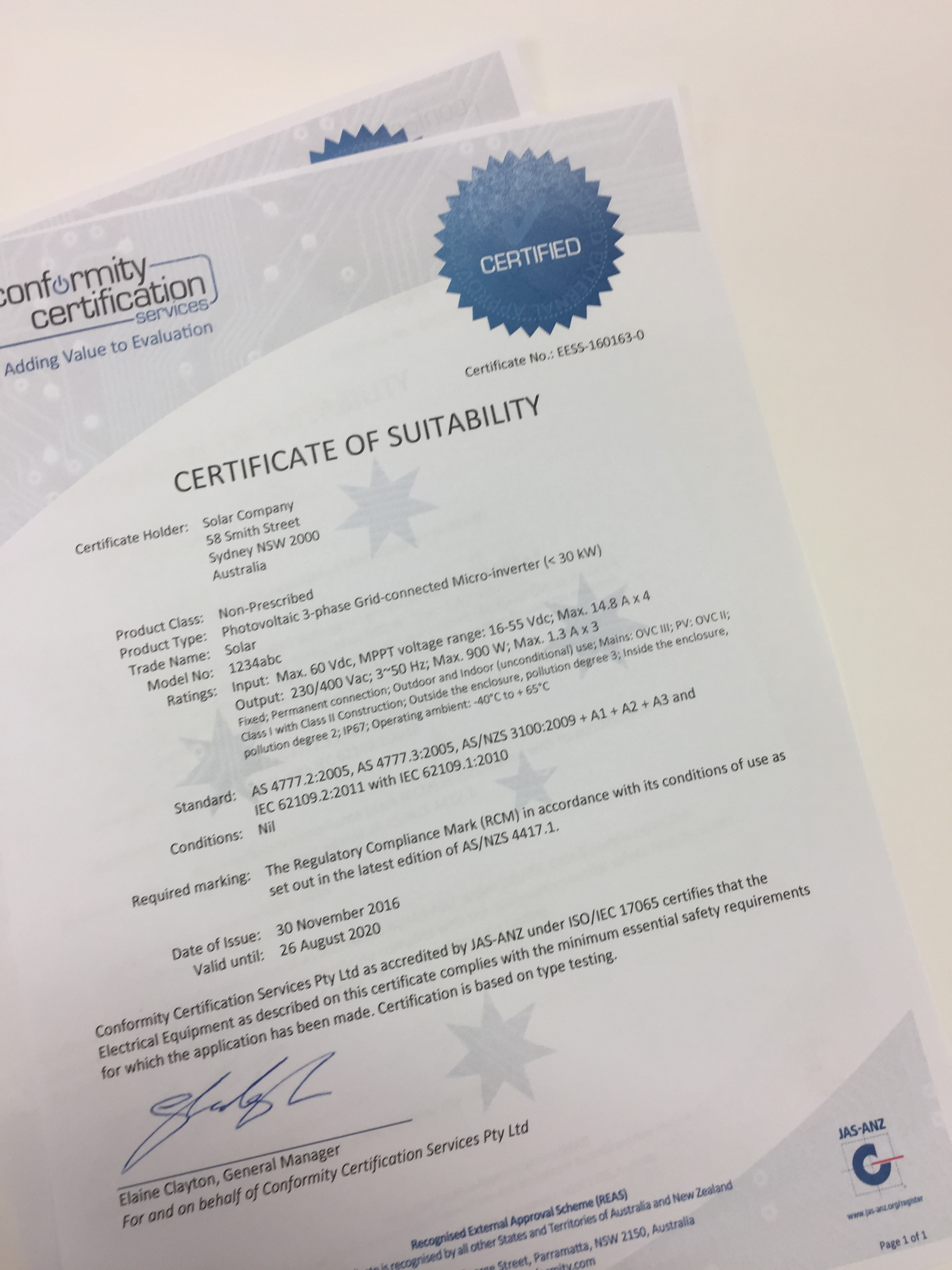 The value of obtaining a certificate of suitability eess the value of obtaining a certificate of suitability xflitez Choice Image