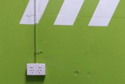 Wall switch and power point